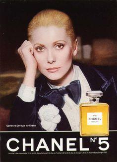 Catherine Deneuve Chanel n 5