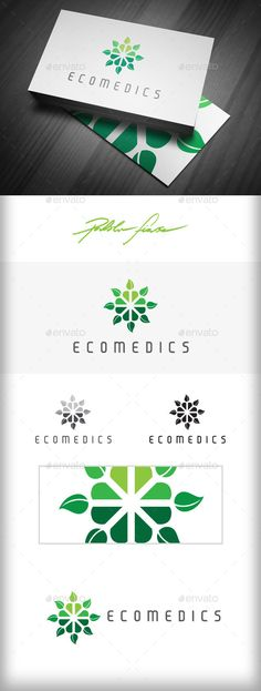 Eco | Natural Health | Nature Care - Logo Design Template Vector #logotype Download it here: http://graphicriver.net/item/eco-logo-natural-health-logo-nature-care-logo/10118275?s_rank=1352?ref=nexion