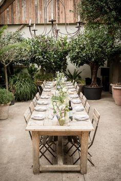 Modern Banquet Setting