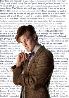 "Eleventh Doctor Quotes. ""I threw the manual into a super nova. I disagreed with it!"""