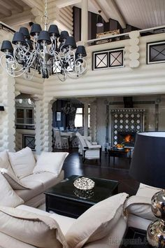 Ideas for home design white wood interiors House Design, House, Rustic Home Design, Home, Cool House Designs, Luxurious Bedrooms, Log Home Decorating, Luxury Cabin, House Interior