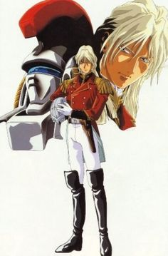 Zechs Marquise and Tallgeese - Gundam Wing: Yeah, he was fine, too.