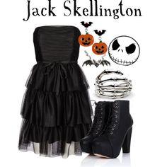 """""""Jack Skellington"""" by princesskj on Polyvore"""