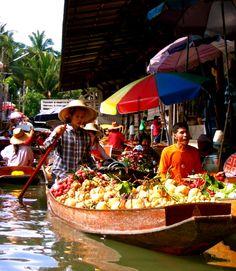 Floating Market, Thailand