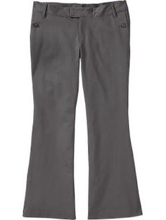 Women's Plus Double-Weave Flared trousers (Old Navy)