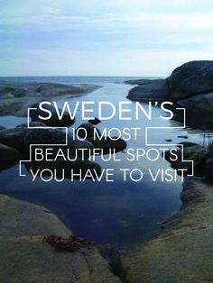 De 10 meest mooie plekjes van Zweden om te bezoeken tijdens je roadtrip.