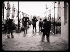 [a:1570365] [a:4462762] [a:5797858] [a:5902717] Trying to ESCAPE from the flood in Venice... It was not easy to keep my iPhone dry! by Ana Aguiar
