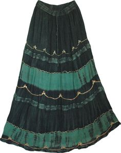 bohemian skirt | Timber Green Womens Long Skirt - Shop for bags, skirts, jewelry at The ...