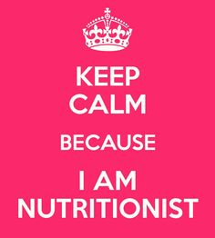 August 11th Nutritionist day!! <3
