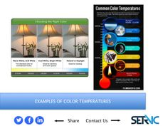 19. EXAMPLES OF COLOR TEMPERATURES