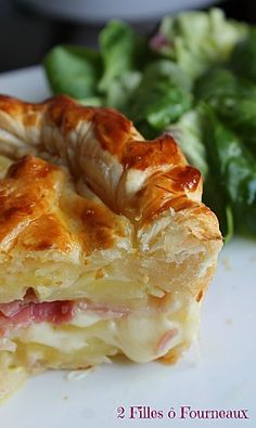 Pancetta - 2 filles ô fourneaux Best Breakfast Recipes, Great Recipes, Snack Recipes, Dessert Recipes, Cooking Recipes, Favorite Recipes, Potato Dishes, Potato Recipes, Quiches