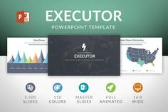 Executor | Powerpoint Template by Slides Market on Creative Market