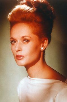 Tippi Hedren...I always thought she was flawless! and mother to Melanie Griffith.