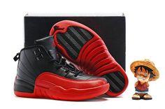 Youth Basketball Shoes 2018 2018 Original Kids Boys Air Jordan XII 12  Varsity Red Black Tokyo 82698f0885