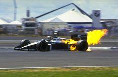 #F1 Andrea de Cesaris - UK (1987)