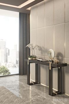 Find out the best console table design selection for your next bathroom decor project. Discover more at http://www.maisonvalentina.net/ #HomeDecor