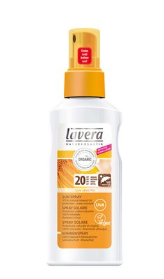 Buy lavera - Sun Care - SPF20 Sun Spray 125ml and other Lavera products at LoveLula - The World's Natural Beauty Shop. FREE Delivery Worldwide.