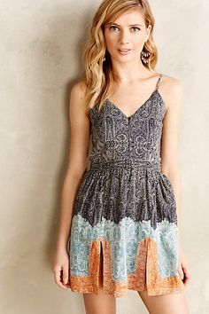 Ellis Mini Dress by Twelfth Street by Cynthia Vincent #anthrofave