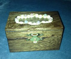Wooden Quilled Keepsake Box by jgaCreations on Etsy, $6.00