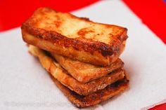 Queso frito (fried white cheese) Delicioso.