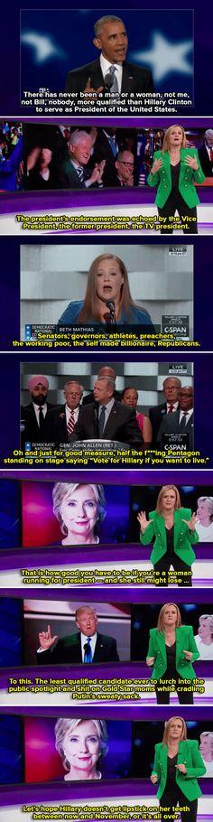 Samantha Bee had the ultimate response to Trump's criticism of Gold Star mom Ghazala Khan
