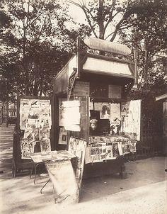 Eugène Atget, 1857–1927. Boutique Journaux, Rue de Sèvres, Paris, 1910-11.