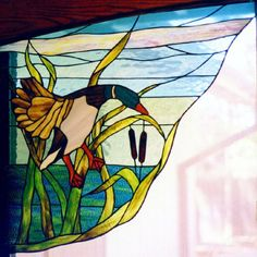 Stained Glass gallery at WayCool - photos of glass work designed by Kathy. Stained Glass Birds, Stained Glass Lamps, Stained Glass Designs, Stained Glass Panels, Stained Glass Projects, Stained Glass Patterns, Mosaic Art, Mosaic Glass, Mosaic Crafts