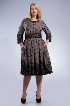 1256 Платье с пышной юбкой