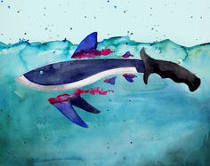 Jacqueline Diane is a Canadian Illustrator, who is a passionate fighter for Animal rights. She has a passion for creative arts in numerous mediums. Save The Sharks, Animal Rights, Creative Art, Whale, Illustrations, Artist, Animals, Creative Artwork, Animales