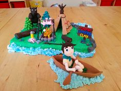 Summer 2014 - The Camping scene!! Nothing says summer any more than a wee camping trip with the family.  Why not get the kids creating their very own imaginary camp-site with our amazing clay modelling workshops this summer.  Happy Modelling