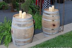 Vineyard Oak Barrel #bydzign #props #vegasdecor #décor #partyrentals For more info/ideas visit www.by-dzign.com