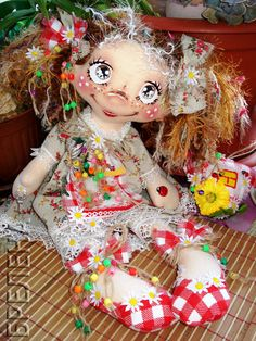 Текстильная кукла  домовушка-желанница Хозяюшка 2