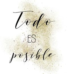 Every thing is feasible 2020 Inspirational Phrases, Motivational Phrases, Positive Phrases, Positive Quotes, Mo S, Spanish Quotes, Change Quotes, Quotes About Strength, Journaling