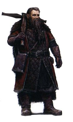 """Concept art for Dori from """"The Hobbit: An Unexpected Journey"""" (2012)."""