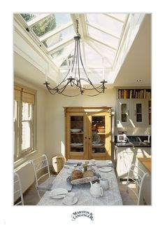 for entrance hall way  Marston & Langinger  Roof Lantern