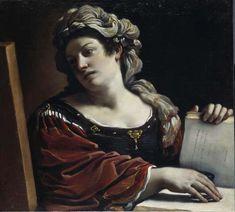 il Guercino (It, 1591-1666) - Sibilla - 1620 - Pinacoteca Civica Il Guercino, Cento (FE)
