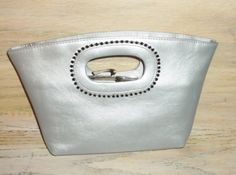 MHYO Designer Purse Silver Gray Purse Glam Evening Wedding Bridal Party Special Occasion Gift for Her Birthday Christmas