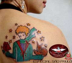 The Little Prince. I still want a little prince tattoo.