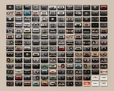 Arranged Collections by Jim Golden7 – cassettes