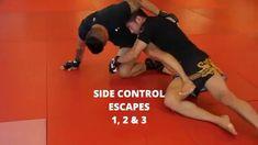 Learn awesome few three beautiful Brazilian jiu jitsu side control escapes. Jiu Jitsu Training, Mma Training, Strength Training, Martial Arts Workout, Martial Arts Training, Mma Workout, Boxing Workout, Jiu Jitsu Moves, Jiu Jitsu Videos