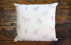 Pink pony cushion  www.waringsathome.co.uk