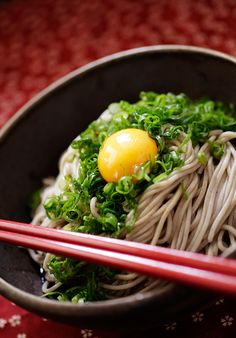 """Soba"" is a Japanese excellent noodle."