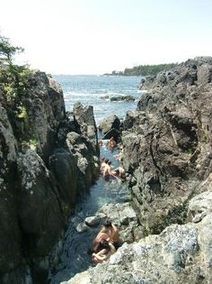 Take a boat to Hot Springs Cove out of Tofino, British Columbia