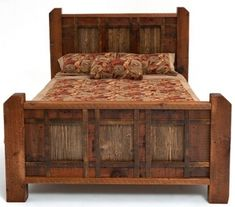 Rustic Bed.