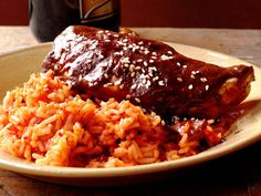 Chicken Mole recipe from Food Network Kitchen via Food Network