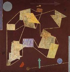 Paul Klee - Auftrieb und Weg (Segelflug)