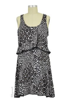 Willow Leopard Print Nursing Night Gown in Gray & Black Leopard Print. We have 31 new arrival products this week. Please use coupon code NewProducts to receive 15% off these items. To receive the discount, please place your order by midnight Monday, February 22, 2016