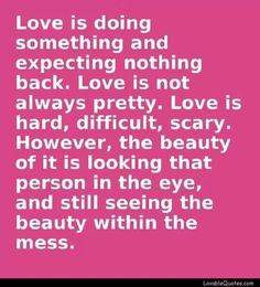 .Love is......