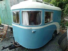 Vintage Camper - rugged life