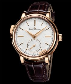 Jeager Le Coultre Master Grande Tradition Minute Repeater 18K RG Automatic Available at Cellini Jewelers